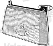 Valeo 029340 - faro principal derecho Ford Fiesta