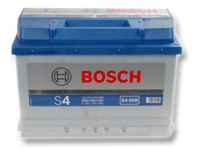 Bosch 0092S40080 - Batería Bosch S4 Silver 72Ah+D