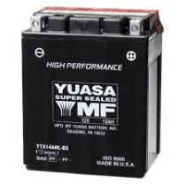 Yuasa YTX14BSCP - Batería moto YTX12-BS 10 Ah Yuasa Maintenance Free