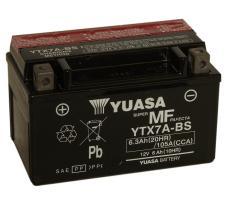 Yuasa YTX7ABSCP - Batería moto YTX5L-BS 4 Ah Yuasa Maintenance Free