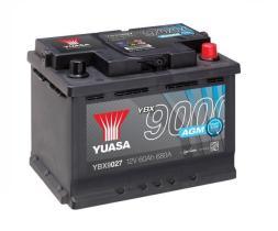 Yuasa YBX9027 - Batería Yuasa AGM Start Stop Plus Batteries