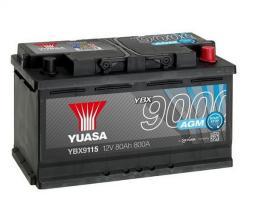 Yuasa YBX9115 - Batería Yuasa AGM Start Stop Plus Batteries