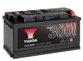 Yuasa YBX3019 - Batería Yuasa 95Ah 850A 12V + Dcha