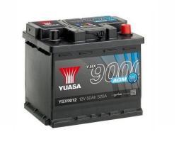 Yuasa YBX9012 - BTR.12V 80AH 780A 0 305X173X225 N