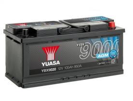 Yuasa YBX9020 - Batería Yuasa AGM Start Stop Plus Batteries
