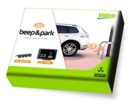 Valeo 632202 - Sensor de aparcamiento Valeo Beep & Park (8 Sensores)